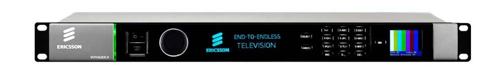 Ericsson Televisions Fifth Generation DSNG Encoder